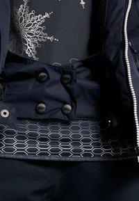 CMP - WOMAN JACKET FIX HOOD - Skijakke - black blue - 7