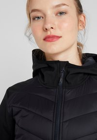 CMP - WOMAN COAT FIX HOOD - Softshelljakke - nero - 3