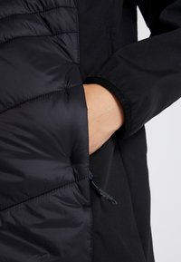 CMP - WOMAN COAT FIX HOOD - Softshelljakke - nero - 7