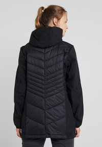 CMP - WOMAN COAT FIX HOOD - Softshelljakke - nero - 2