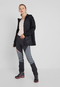 CMP - WOMAN COAT FIX HOOD - Softshelljakke - nero - 1