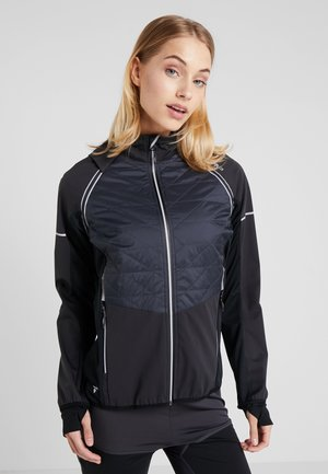 WOMAN JACKET WITH DETACHABLE SLEEVES - Impermeabile - antracite