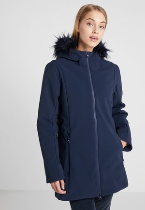 WOMAN FIX HOOD - Vinterkappa /-rock - black blue