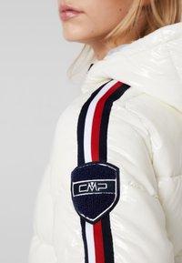 CMP - WOMAN JACKET FIX HOOD - Winterjas - white - 7
