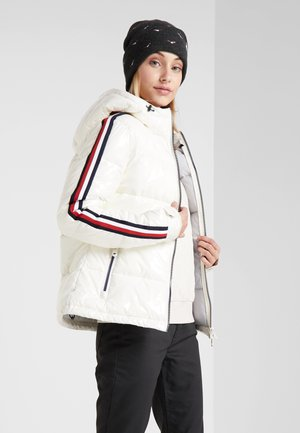 WOMAN JACKET FIX HOOD - Zimní bunda - white