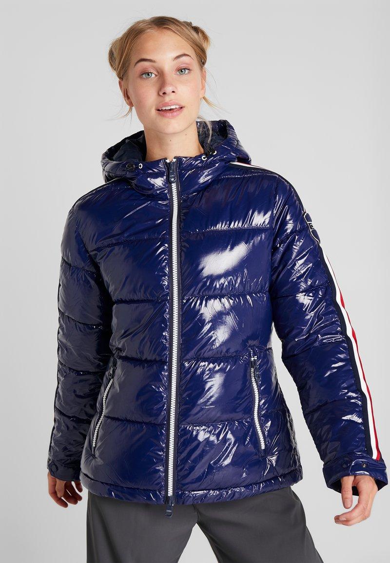 CMP - WOMAN JACKET FIX HOOD - Zimní bunda - blue marine