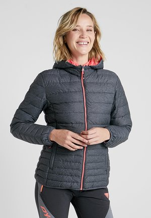 WOMAN ZIP HOOD  - Outdoorjakke - nero