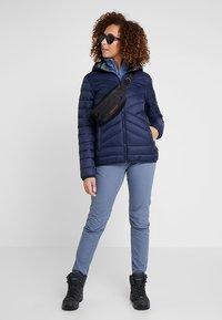 CMP - WOMAN JACKET ZIP HOOD - Winter jacket - black blue - 1
