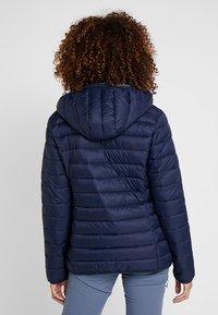 CMP - WOMAN JACKET ZIP HOOD - Winter jacket - black blue - 2