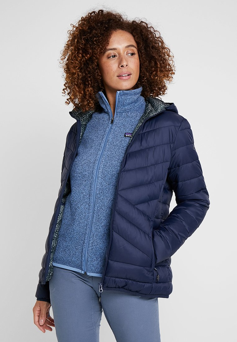 CMP - WOMAN JACKET ZIP HOOD - Zimní bunda - black blue