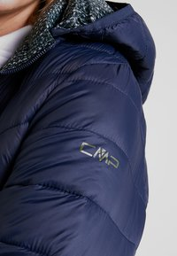CMP - WOMAN JACKET ZIP HOOD - Vinterjacka - black blue - 7