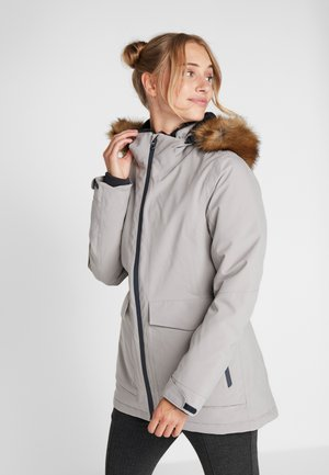 WOMAN JACKET ZIP HOOD - Parka - mastice
