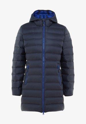 WOMAN FIX HOOD - Dunkåpe / -frakk - black blue