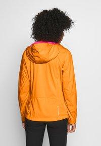 CMP - WOMAN JACKET ZIP HOOD - Soft shell jacket - solarium - 2