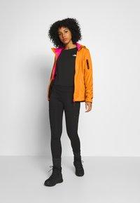 CMP - WOMAN JACKET ZIP HOOD - Soft shell jacket - solarium - 1