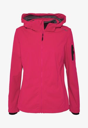 WOMAN JACKET ZIP HOOD - Softshelljas - gloss