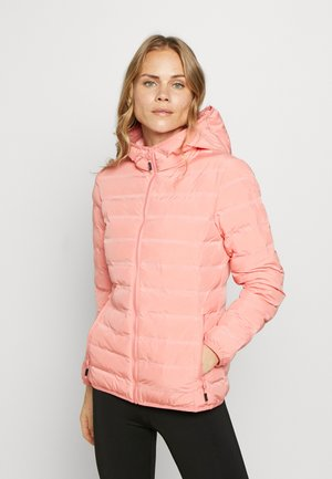 WOMAN JACKET FIX HOOD - Outdoorjakke - flamingo