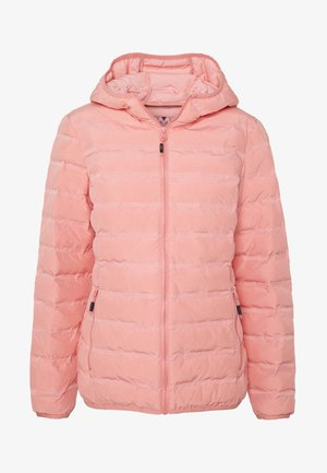 WOMAN JACKET FIX HOOD - Outdoor jacket - flamingo