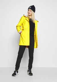 CMP - RAIN JACKET FIX HOOD - Waterproof jacket - cedro - 1