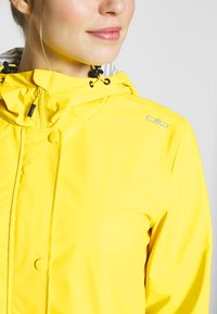 CMP - RAIN JACKET FIX HOOD - Waterproof jacket - cedro - 5