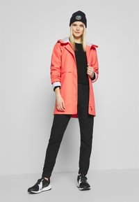 CMP - RAIN JACKET FIX HOOD - Waterproof jacket - peach - 1