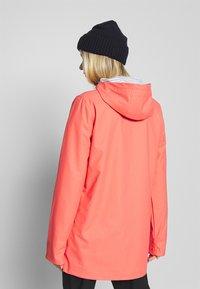CMP - RAIN JACKET FIX HOOD - Waterproof jacket - peach - 2
