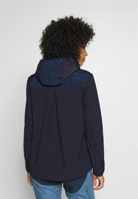 CMP - WOMAN JACKET FIX HOOD - Outdoorjakke - dark blue - 2