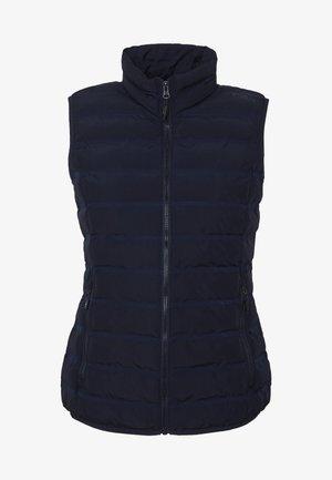 WOMAN GILET - Waistcoat - dark blue