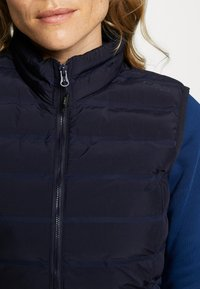 CMP - WOMAN GILET - Smanicato - dark blue - 4