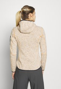 CMP - WOMAN JACKET FIX HOOD - Fleecejakker - solarium - 2