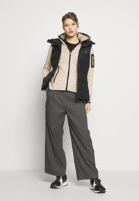CMP - WOMAN JACKET FIX HOOD - Fleecejakker - solarium - 1