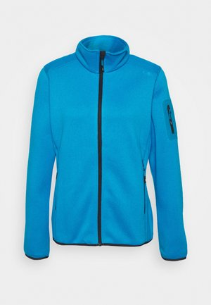 WOMAN JACKET - Kurtka z polaru - danubio/antracite