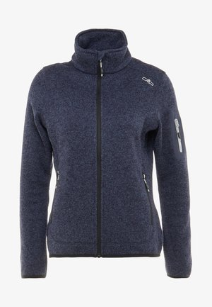 Fleece jacket - blue/nero