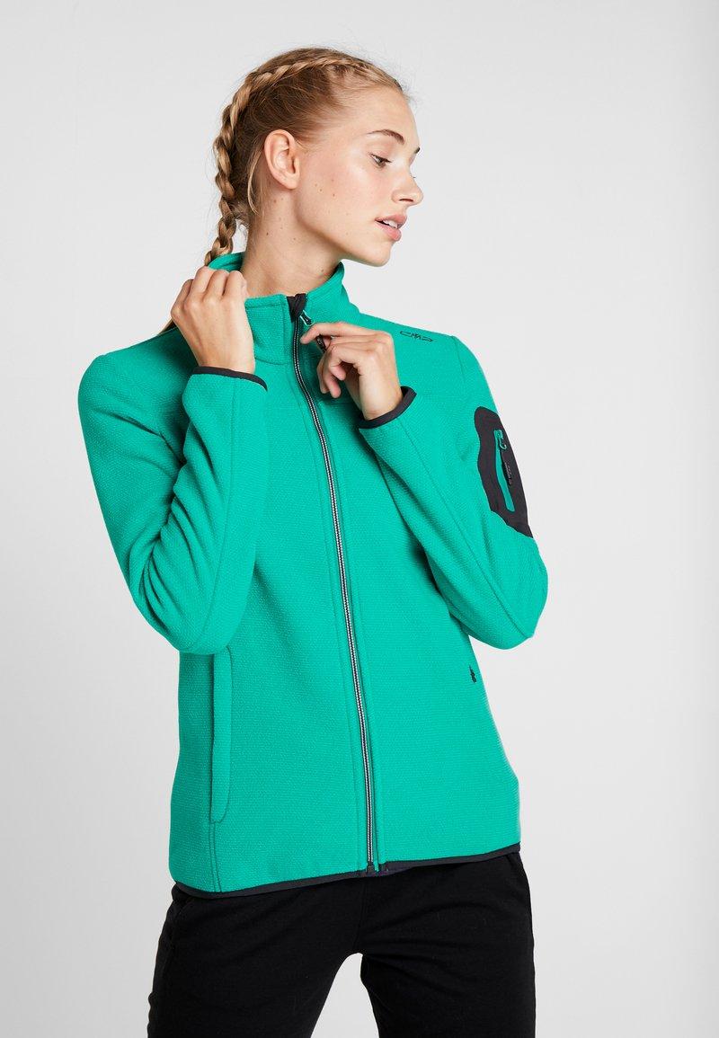 CMP - WOMAN JACKET - Fleecová bunda - mint