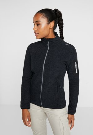 Fleece jacket - nero graffite