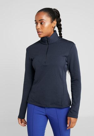 WOMAN - Fleece jumper - black blue