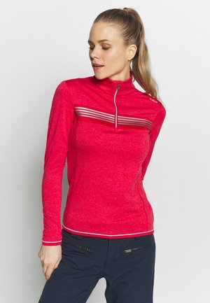 WOMAN - Fleece jumper - ferrari melange