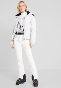 CMP - Long sleeved top - bianco/nero - 1
