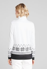 CMP - Long sleeved top - bianco/nero - 2