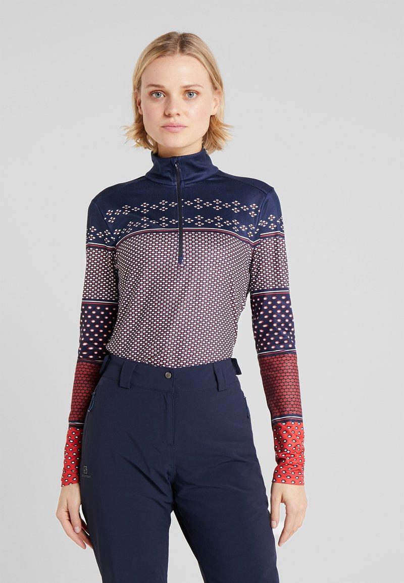 CMP - WOMAN - Bluza z polaru - blue/ferrari
