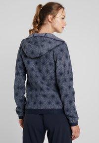 CMP - WOMAN JACKET FIX HOOD - Fleece jacket - grey/blue - 2