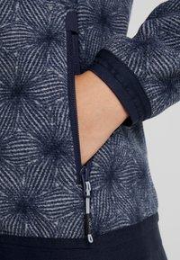 CMP - WOMAN JACKET FIX HOOD - Fleece jacket - grey/blue - 5