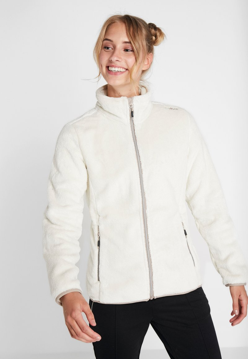 CMP - WOMAN JACKET - Fleecejakke - off-white