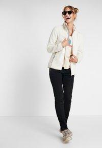 CMP - WOMAN JACKET - Fleecejacke - off-white - 1