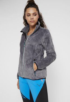 WOMAN JACKET - Fleece jacket - graffite
