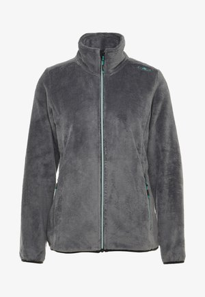 WOMAN JACKET - Kurtka z polaru - graffite