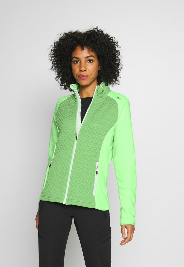 WOMAN JACKET - Kurtka z polaru - leaf