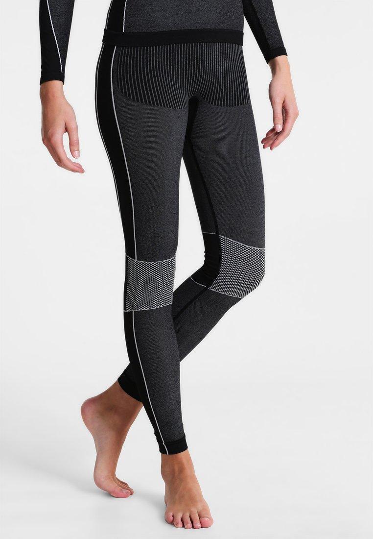 CMP - WOMAN SEAMLESS LONG  - Unterhose lang - schwarz
