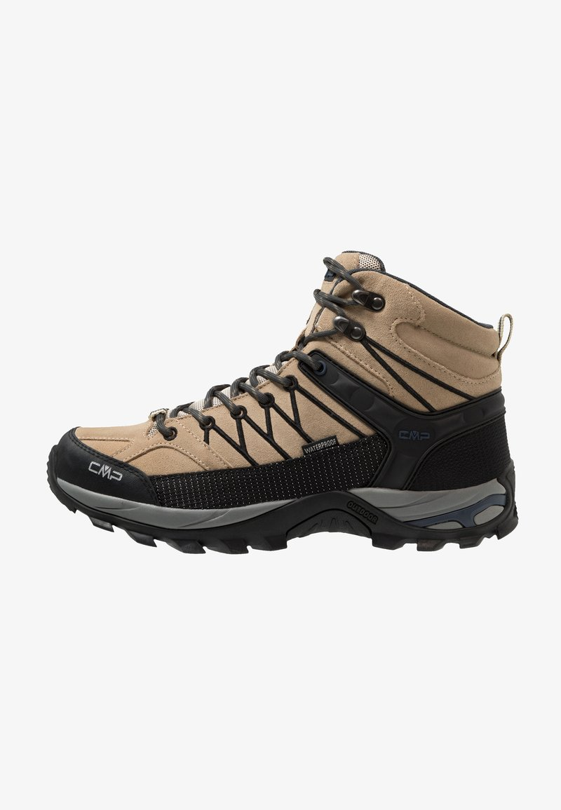 CMP - RIGEL MID TREKKING SHOES WP - Vaelluskengät - sand/antracite