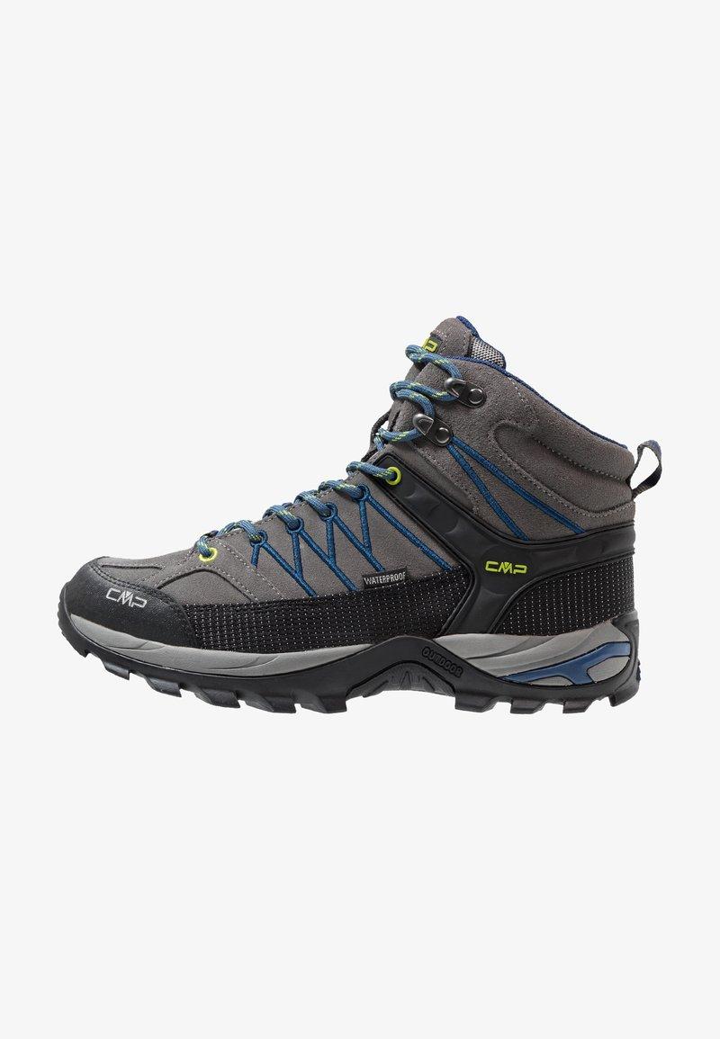 CMP - RIGEL MID TREKKING SHOES WP - Hiking shoes - graffite/marine